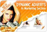 NEW Material! Dynamic Adverts in Marketing Section